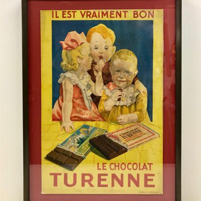 Cadre sur-mesure - Publicité locale Turenne