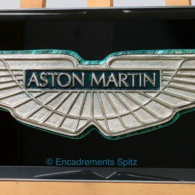 cadre aluminium sur mesure creation aston martin