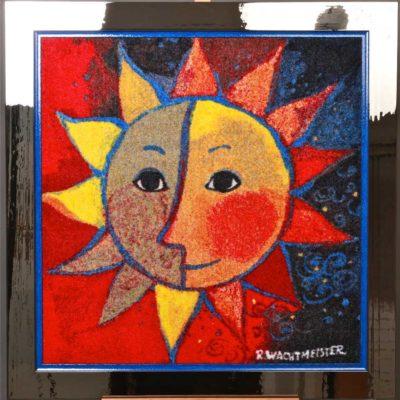 cadre soleil rosina insolite